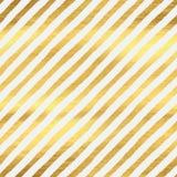 Geometric golden stripes seamless pattern Royalty Free Stock Photos