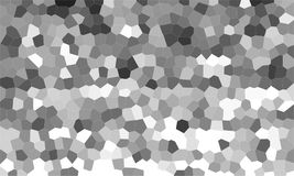 Geometric gray. Black and white pattern background Stock Images