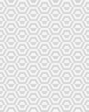 Geometric gray hexagon. Seamless pattern of geometric gray hexagon , illustration Royalty Free Stock Photos