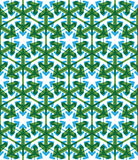 Geometric green abstract seamless pattern Royalty Free Stock Photo
