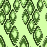 Geometric green patterns Royalty Free Stock Photo