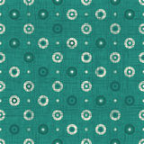 Geometric green seamless background Royalty Free Stock Photography