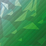 Geometric green tones background patterns icon. Flat design geometric green tones background patterns icon  illustration Royalty Free Stock Photography