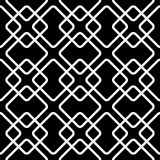 Geometric grid, mesh pattern with intersecting lines. Abstract grille, reticulated, cellular pattern. - Royalty free vector illustration stock illustration