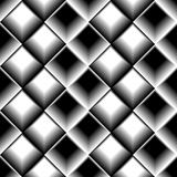 Geometric grid, mesh pattern with intersecting lines. Abstract grille, reticulated, cellular pattern. - Royalty free vector illustration Royalty Free Stock Photos