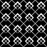 Geometric grid, mesh pattern with intersecting lines. Abstract grille, reticulated, cellular pattern. - Royalty free vector illustration royalty free illustration