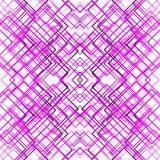 Geometric grid, mesh seamlessly repeatable pattern. Monochrome r Stock Photos