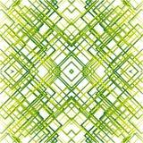 Geometric grid, mesh seamlessly repeatable pattern. Monochrome r Royalty Free Stock Photos