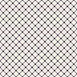 Vector geometric seamless pattern with small diagonal square grid vector illustration