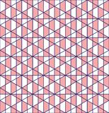 Geometric grid seamless pattern design stock photo