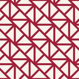 Geometric grid triangle minimal graphic vector pattern Royalty Free Stock Photo