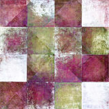 Geometric grunge background. Geometric background image with earthy texture Royalty Free Stock Images