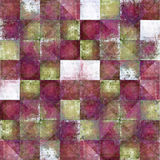 Geometric grunge background. Geometric background image with earthy texture Stock Image