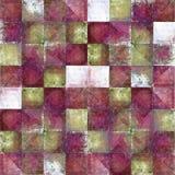 Geometric grunge background Stock Image