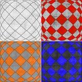 Geometric grunge backgrounds Stock Photos