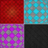 Geometric grunge backgrounds Royalty Free Stock Photos