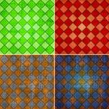 Geometric grunge backgrounds Stock Images