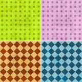 Geometric grunge backgrounds Royalty Free Stock Image