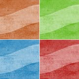 Geometric grunge colorful backgrounds Royalty Free Stock Photo