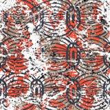 Geometric Grunge Pattern Royalty Free Stock Image