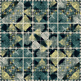 Geometric Grunge Pattern Royalty Free Stock Photography