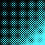 Geometric halftone dot pattern background - vector graphic design from circles Royalty Free Stock Images