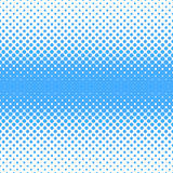 Geometric halftone dot pattern background - vector graphic design from circles in varying sizes Stock Photo