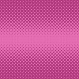 Geometric halftone dot pattern background - vector graphic design from circles in varying sizes. Geometric retro halftone dot pattern background - vector graphic Stock Image