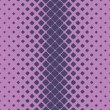 Geometric halftone rounded square pattern background design from diagonal squares Stock Image