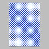 Geometric halftone square pattern background page template design - vector stationery illustration. Abstract geometric halftone square pattern background page royalty free illustration