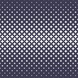 Geometric halftone stars decorative art pattern Vector Illustration