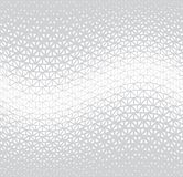 Geometric halftone triangle minimal graphic vector pattern vector illustration