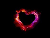 Geometric heart Stock Photos