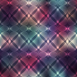 Geometric heatrs on blur background. Royalty Free Stock Photo