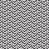 A geometric herringbone pattern on a white background. Royalty Free Stock Photography