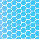 Geometric Hexagon Abstract Background Royalty Free Stock Photo