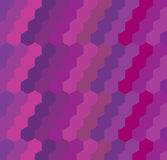 Geometric hexagon background Stock Photography