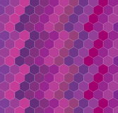 Geometric hexagon background Royalty Free Stock Photography