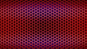 Geometric hexagon pattern Stock Photo