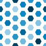 Geometric hexagon seamless pattern Royalty Free Stock Photo