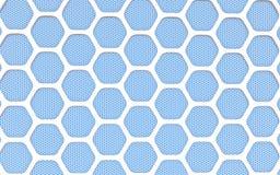 Geometric hexagonal abstract background Royalty Free Stock Photos