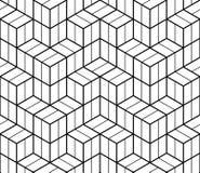 Geometric hipster fashion design print 3d cubes pattern. Abstract geometric hipster fashion design print 3d cubes pattern Royalty Free Stock Photography