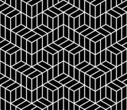 Geometric hipster fashion design print 3d cubes pattern. Abstract geometric hipster fashion design print 3d cubes pattern Royalty Free Stock Photos