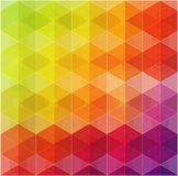 Geometric hipster retro background Royalty Free Stock Images