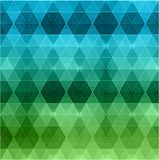 Geometric hipster retro background Stock Photography
