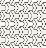 geometric illusion black and white graphic design print pattern Royalty Free Stock Image