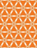 Geometric interlocking lattice triangle pattern. Seamless vector background. Hand drawn graphic damask illustration. Trendy home. Decor fashion print, retro art stock illustration