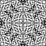 Geometric Intricate Check Pattern Royalty Free Stock Image