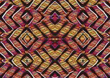Geometric Intricate Check Pattern Stock Image