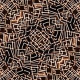 Geometric Intricate Ethnic Pattern Royalty Free Stock Photo